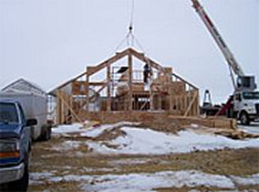 Building Construction - Jensen's Nursery and Garden Centre  - Plant Nursery - Winnipeg - Manitoba